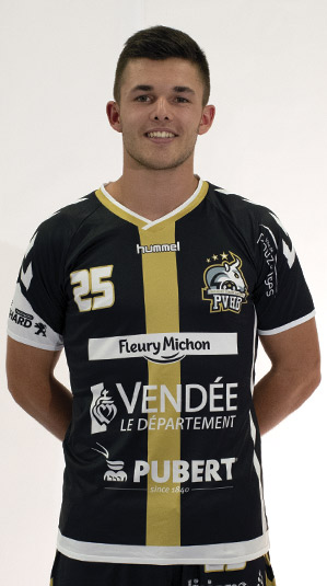florentin albert pouzauges vendee handball