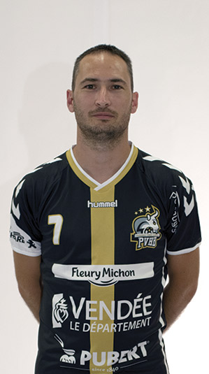 pierre roussel pouzauges vendee handball