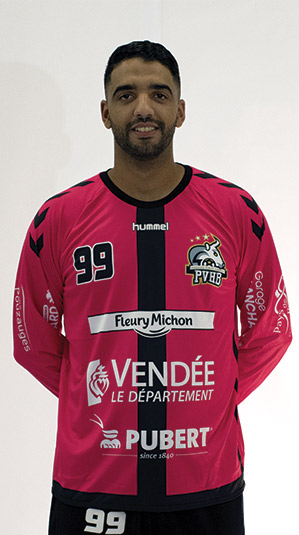 slim skander pouzauges vendee handball