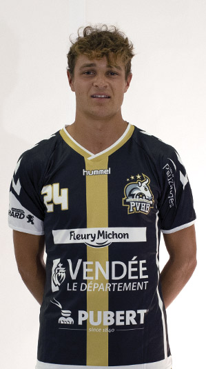 victor rassinoux pouzauges vendee handball