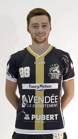 Quentin Braud pouzauges vendee handball