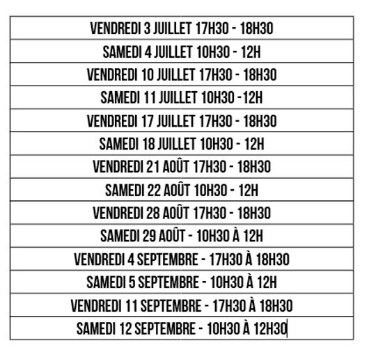 Permanences des licences du Pouzauges Vendée Handball
