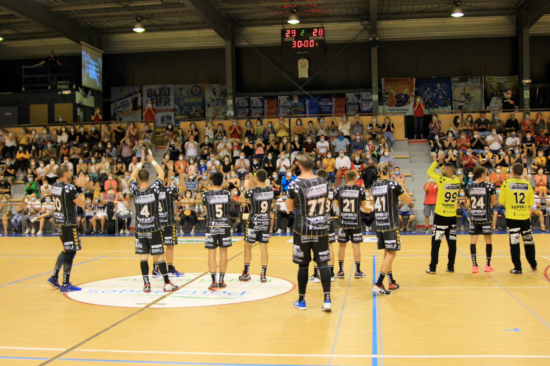 pouzauges vendee handball