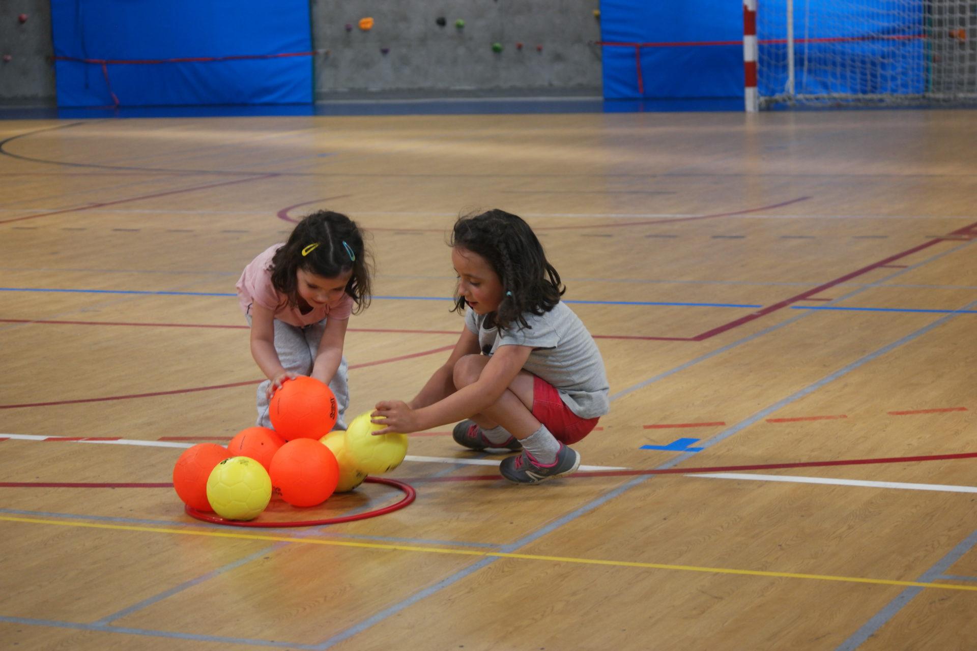 baby hand pouzauges vendée handball