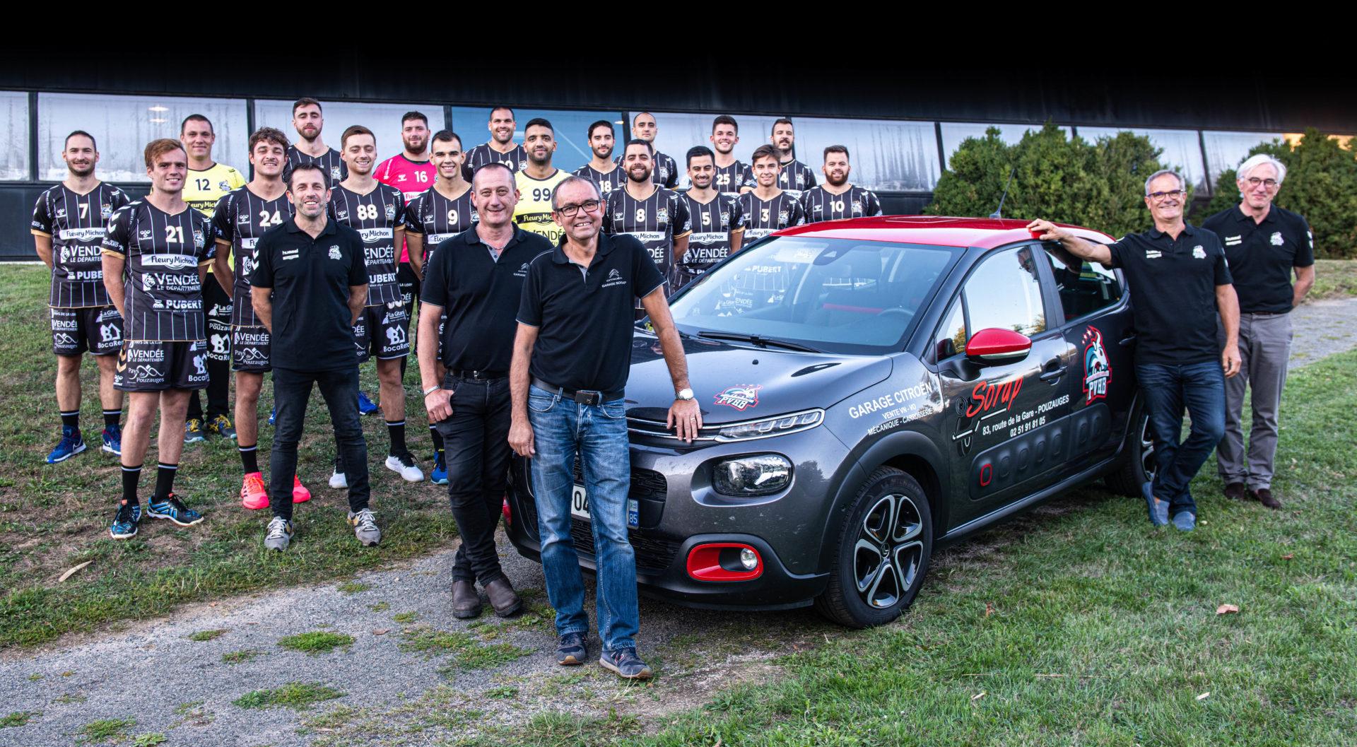 Les partenaires du Pouzauges venndee-handball