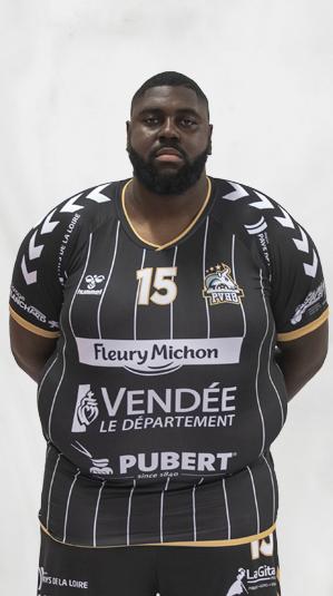 Gauthier Mvumbi pouzauges vendée handball (pvhb)
