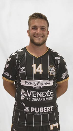 nathan billaud pouzauges vendee handball (pvhb)